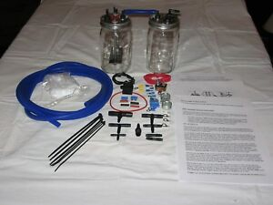 Hho Hydrogen Generator Kit 1 Cell With Dryer For 6 And 8 Cyl Engines