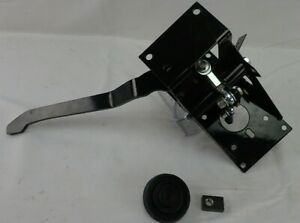 New Universal 90 Degree Under Dash Brake Pedal Bracket Assembly Street Hot Rod