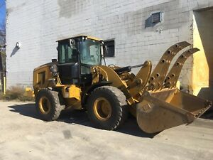 2016 Cat 926m Wheel Loader With Scrap Bucket