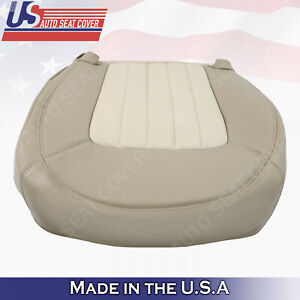 2002 2003 2004 2005 Mercury Mountaineer Driver Bottom Perf Leather Cover Tan