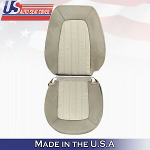 2002 2003 2004 2005 Mercury Mountaineer Passenger Top Bottom Leather Seat Tan
