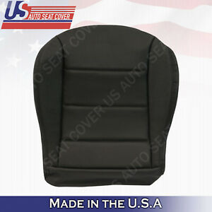 1999 To 2004 Volkswagen Jetta Front Driver Bottom Leather Seat Cover In Black