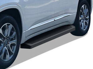 Iboard Black Running Boards Style Fit 18 21 Chevy Traverse