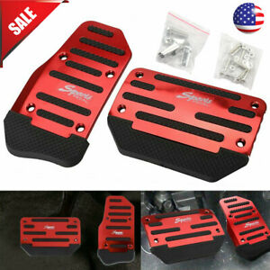 Universal Non Slip Automatic Gas Brake Foot Pedal Pad Cover Car Accessories Kits