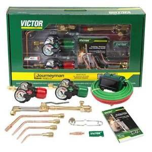 Victor 0384 2100 Journeyman 540 300 Edge 2 0 Acetylene Cutting Torch Outfit