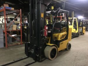 2014 Yale 10 000 Lb Forklift With 273 Inch Max Lift Height