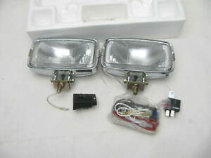 Vintage Dominion 62 6007 55watt Halogen Stainless Steel Driving Fog Lights