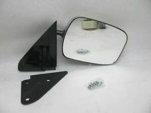 Right Chrome Black Side View Mirror For Various 1988 2000 Gm Gmc Trucks 3623