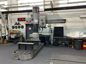 Radial Arm Drill Press American Hole Wizard 6ft Arm Reliable