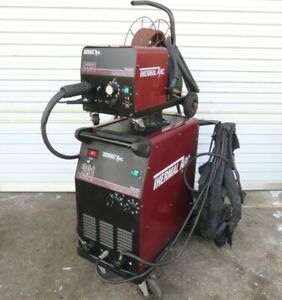 Thermal Arc 281 Fabricator Mig Welding Machine W Thermal A2281 Hose Gun