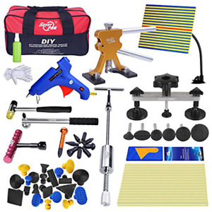 97pc Pdr Tools Dent Puller Lifter Paintless Hai Ding Removal Repair Hammer Kits