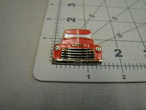 Red 47 48 49 50 51 52 53 Chevy Pick Up Truck Pin Suburban Panel Canopy Express