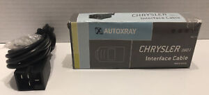 Autoxray Interface Cables Obd I Chrysler Pc Interface Cable 20130 New Open Box