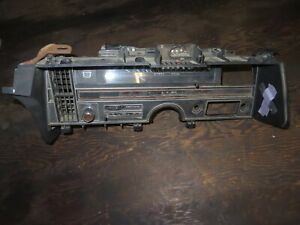 Oem 69 70 1969 1970 Cadillac Deville Complete Dash Assembly With Components Show