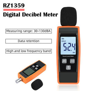 Sound Level Meter Digital Lcd Display Noise Tester Measurement 30 130db Decibel