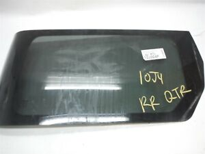 2006 Honda Element Passenger Right Rear Quarter Vent Glass Window Oem 2003 2008