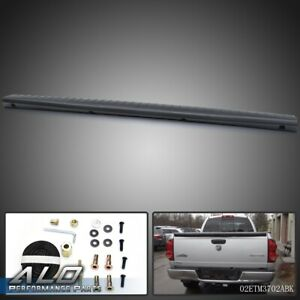Tailgate Cover Cap Molding Panel Black Fit For 02 08 Dodge Ram 1500 2500 3500