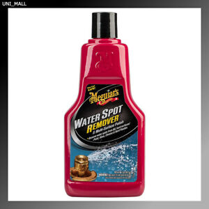 Meguiars A3714 Water Spot Remover Water Stain Remover And Polish 16 Oz
