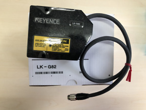 One New Keyence Lk g82 Laser Displacement Sensor Photoelectric