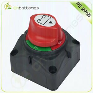 Battery Switch Power Cut On off Master Disconnect Isolator Car Vehicle Rv Boat
