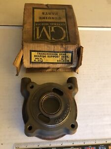 Nos Gm 1949 1954 Chevy Pass Transmission Rear Bearing Support Assembly 591859
