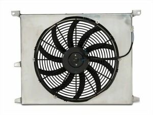 Sr Performance Universal 16 Slim Radiator Fan With Shroud Fits Mustang 79 20