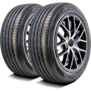 2 New Waterfall Eco Dynamic 205 60r16 92v A S Performance Tires