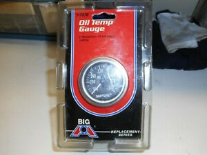 Vintage Oil Temperature Gauge Kit Big A 1 7976