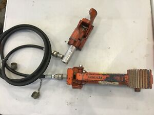 Greenlee 800 Hydraulic Cable Bender With 767 Hand Pump