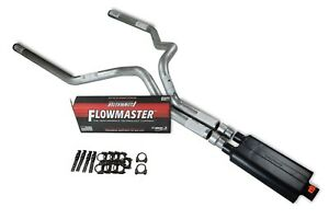 94 03 Dodge Ram 1500 3 Dual Exhaust Kit Flowmaster 50 Series
