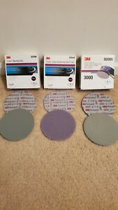 3m Trizact 6 Hookit Foam Discs 1000150030001sheet Of Each 3 Total