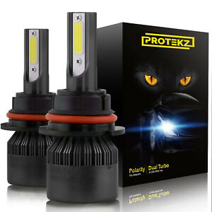 Protekz H11 Led Headlight Kit Low Beam Bulb Super Bright 270000lm 6k Light