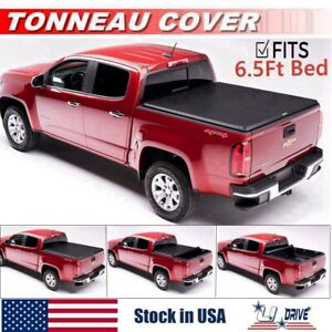 Roll Up Soft For 1999 2006 Chevy Silverado Gmc Sierra 6 5ft Bed Tonneau Cover