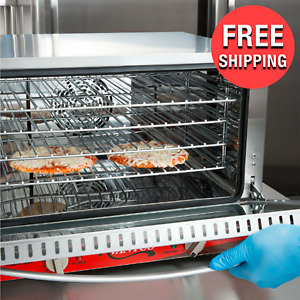 Half Size Commercial Restaurant Kitchen Countertop Electric Heat Convection Oven