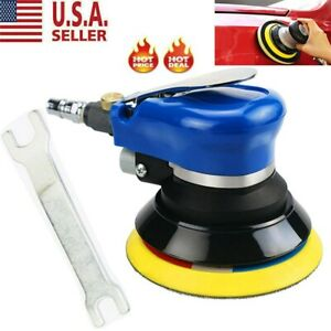 5 Air Random Orbital Palm Sander Auto Body Orbit Da Sanding New Usa