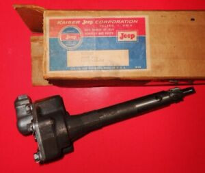 Nos Vintage 1954 1964 Willys Jeep Oil Pump Station Wagon Pickup Truck 733653