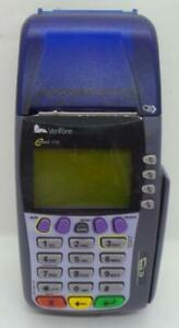 Verifone Omni 3750 Credit Card Terminal For Parts As Is Untested