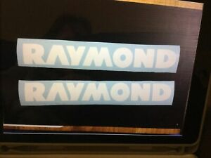 Set Of 2 Raymond Decal Raymond Forklift Decal 14 X 2 Approx Size