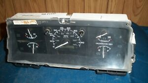 1994 1995 Ford Instrument Gauge Cluster F150 F250 F350 Bronco No Tach