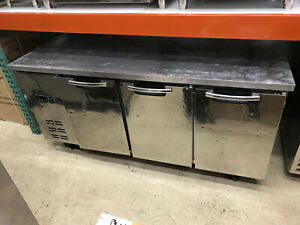 Three door 72 Undercounter Refrigerator