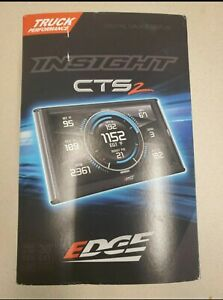 Edge Insight Cts2 Monitor 84130 Ford Chevy Gmc Dodge Ram