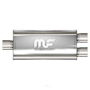 Magnaflow 12298 5 X8 Oval Muffler Center 3 In Dual 3 Out 18 Body 3 Size