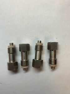 Lot Of 4 New Parr Instrument Fittings 316ss T316