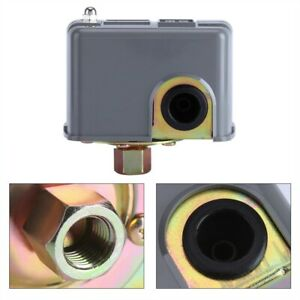Self priming Water Pump Pressure Control Switch Adjustable Double Spring Pole Us