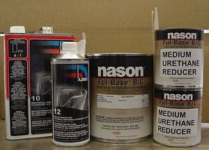 Auto Shop Paint Dupont nason Ford Oxford White yz Z1 Basecoat Clearcoat
