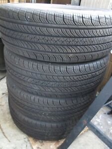 4 X Used Continental Procontact Tx 215 60 17 96h Grand Touring All Season Tire
