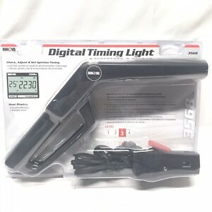 Innova Electronic Timing Light With Digital Advance And Tach Functions 3568