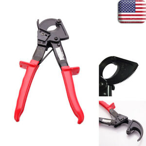 High Quality Ratcheting Cable Cutter Aluminum Cutting Hand Tool Cut Up To 240mm