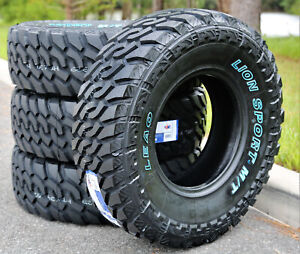4 Tires Leao Lion Sport Mt Lt 35x12 50r20 Load E 10 Ply M t Mud