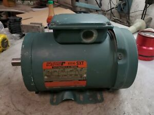 Reliance 2 Hp Electric Ac Motor 230 460 Vac Fk145t Frame 3450 Rpm 3 Phase